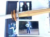 These are the original Movie props swords seen in the Movie Hatchi where Richard Gere uses the  swords while practicing with his friend.