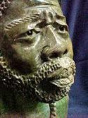 Carved by the Shona Warriors from Africa.. This life like bust is a one a kind item ...